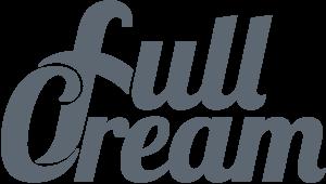 full cream footer logo