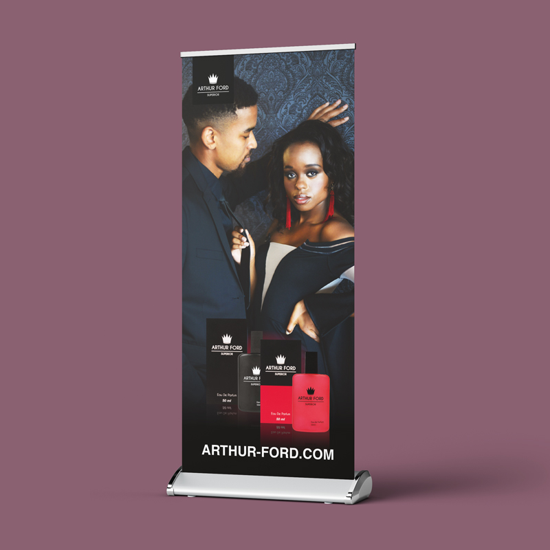 Arthur Ford Pull-up Banners