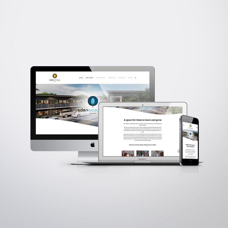 eden village custom website