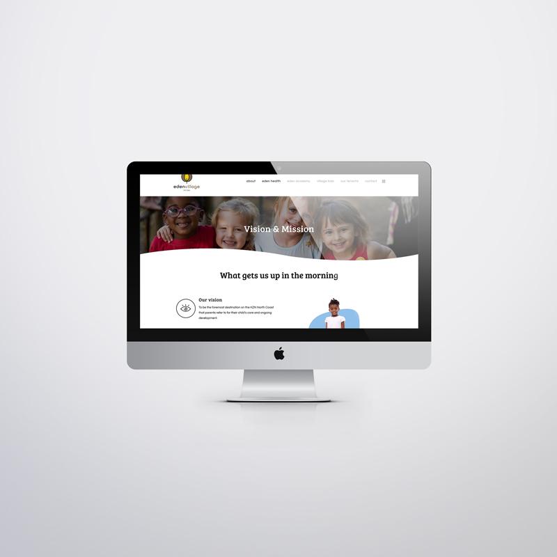 eden village custom website 2