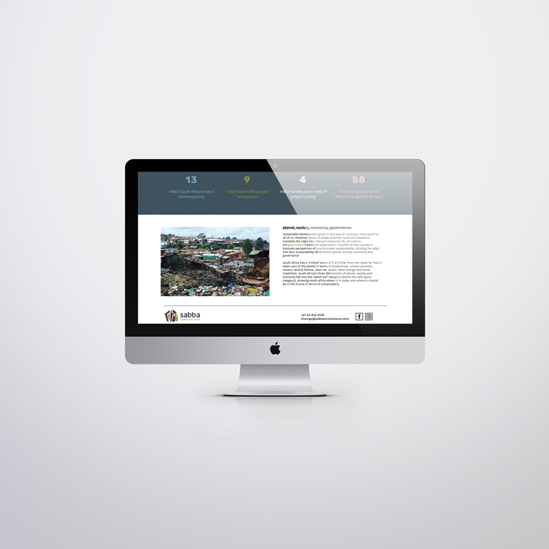 sabba movement custom website 3